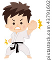 karate, empty hand, martial arts 43791602