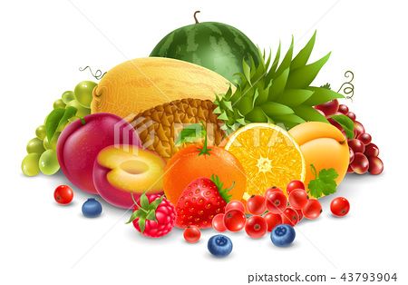 Fruits and berries 43793904