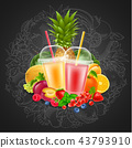 fruit berry mix 43793910