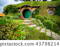 "Hobbiton movie set for ""The Hobbit"" in New Zealand 43798214"