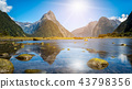 Milford Sound in New Zealand 43798356