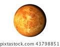 Planet Venus with atmosphere 43798851