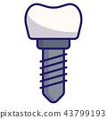 Dentail implants LineColor 43799193