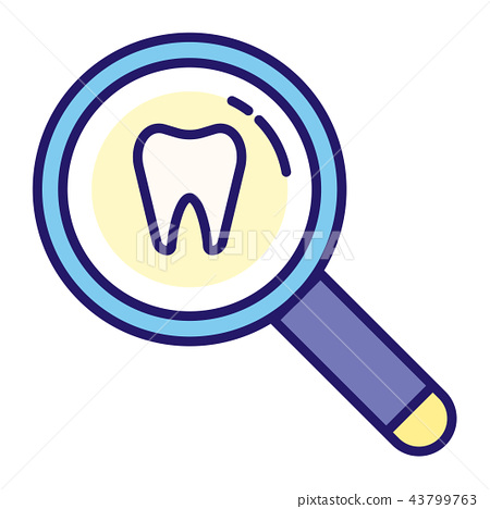 Tooth inspection LineColor 43799763