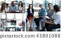 Team, Teamwork, Meeting 43801088