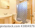 New construction modern home bathroom 43804976