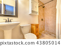 Modern clean and open bathroom in California 43805014