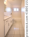 Long narrow bathroom 43805155