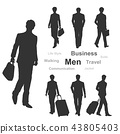 business, gents, male 43805403