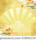 แผ่นทอง,ฤดูใบไม้ร่วง,ต้นเมเปิล 43806230