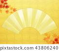 แผ่นทอง,พื้นหลัง,ฤดูใบไม้ร่วง 43806240