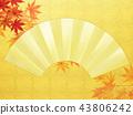 แผ่นทอง,ฤดูใบไม้ร่วง,ต้นเมเปิล 43806242