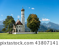 Saint Coloman Church - Schwangau Bavaria Germany 43807141