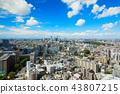 View cityscape towards Ikebukuro from Bunkyo Civic Center 43807215