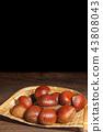 เกาลัด,เบอร์รี่,อาหาร 43808043