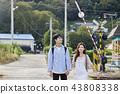 한국인, 여행, 휴식 43808338