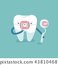 Brace tooth and equipment of dental. 43810468