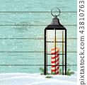 lantern, vintage, christmas 43810763