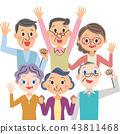 enthusiastic, elder, elderly 43811468