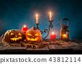 halloween, pumpkin, moon 43812114