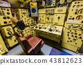 Interior of Russian submarine - Moscow museum 43812623