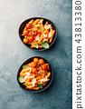 意大利面 食物 食品 43813380