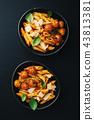 意大利面 食物 食品 43813381