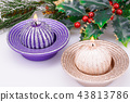Christmas candles 43813786