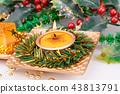 Christmas candles 43813791