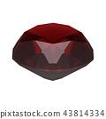 石榴石首飾,珠寶 43814334