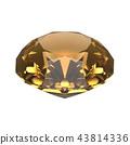水晶(黃水晶)飾品,珠寶 43814336