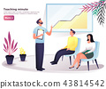 People at seminar or conference, training 43814542