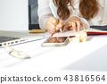 asian business women at work 43816564