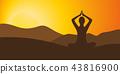 ภูเขา,การนั่งสมาธิ,อัสดง 43816900