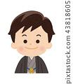 กิโมโน,เครื่องแต่งกายญี่ปุ่น,ผู้ชาย 43818605