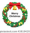 크리스마스리스 43819420