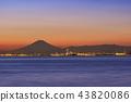 Fuji and Tokyo Bay and Yokohama 43820086