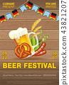 Oktoberfest Beer Festival Poster 43821207