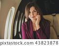 airplane, passenger, person 43823878