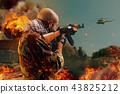 士兵 军人 恐怖主义 43825212