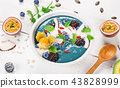 fruit, smoothie, bowl 43828999