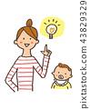 閃光 父母和小孩 親子 43829329