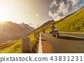 유럽, 오토바이, 운전 43831231