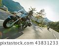 유럽, 오토바이, 운전 43831233
