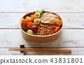 豬肉的生薑烤午餐盒 43831801