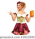 female, lady, beer 43832690