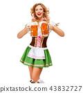 female, lady, beer 43832727