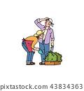 園藝 夫婦 一對 43834363