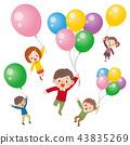 氣球 汽球 兒童 43835269