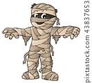 Mummy theme image 1 43837653